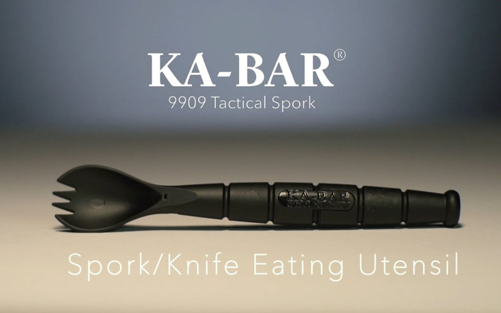 Ka-Bar Tactical Spork for the Outdoors